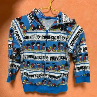 コンベックス(CONVEX)の子供服パーカー(ジャケット/上着)