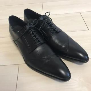 アルフレッドバニスター(alfredoBANNISTER)のビジネス 革靴 ブラック(アルフレッドバニスター スコッチグレイン)(ドレス/ビジネス)