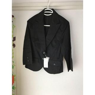 ニッセン(ニッセン)の♡テーラード ジャケット ブラック ニッセン 新品未使用♡(テーラードジャケット)