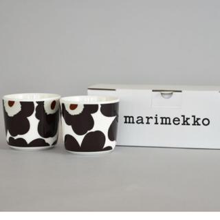 マリメッコ(marimekko)のmarimekko 新品★ラテマグ ペア UNIKKO(グラス/カップ)