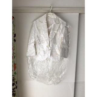 ニッセン(ニッセン)の♡テーラード ジャケット ホワイト ニッセン 新品未使用♡(テーラードジャケット)
