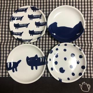 ツモリチサト(TSUMORI CHISATO)の【tsumori chisato】ツモリチサト★In Red付録 豆皿4枚セット(食器)