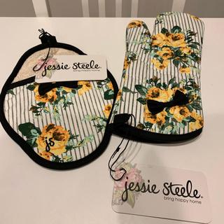 ジェシースティール(Jessie Steele)の【値下げ】Jessie Steele ミトン2種類セット(収納/キッチン雑貨)
