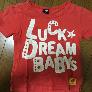 ドリームベイビーズ(DREAMBABYS)のドリームベビー 赤 Tシャツ キッズ(Tシャツ/カットソー)