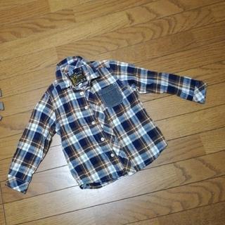 シューラルー(SHOO・LA・RUE)の110cm ネルシャツ  記名無し(Tシャツ/カットソー)