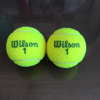 ウィルソン(wilson)の【USED】テニスボール 〈ダイエット・マッサージ・腰痛・出産準備に♡〉(ボール)