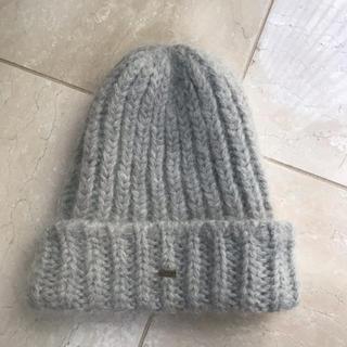 ドゥーズィエムクラス(DEUXIEME CLASSE)の未使用 BATONER バトナー モヘアニット帽(ニット帽/ビーニー)