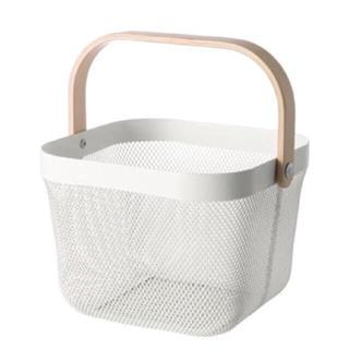 IKEA - IKEA  RISATORP バスケット ホワイト