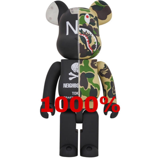 MEDICOM TOY - ABATHINGAPE×NEIGHBORHOODBE @RBRICK1000%