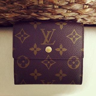 ルイヴィトン(LOUIS VUITTON)の【お値下げ】モノグラム Wホック開閉式財布(財布)