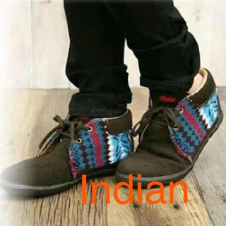 インディアン(Indian)のIndian スニーカー ブーツ 25.5センチ(スニーカー)