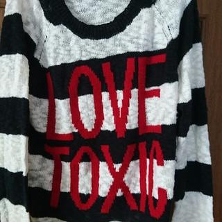 ラブトキシック(lovetoxic)の薄手のセーター(ニット/セーター)
