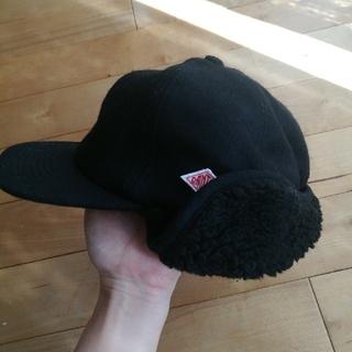 ダントン(DANTON)のダントン DANTON 帽子 ボア付キャップ(キャップ)