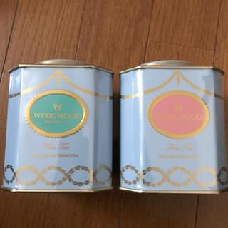 ウェッジウッド(WEDGWOOD)の新品未開封  ウェッジウッド    紅茶   2缶(茶)
