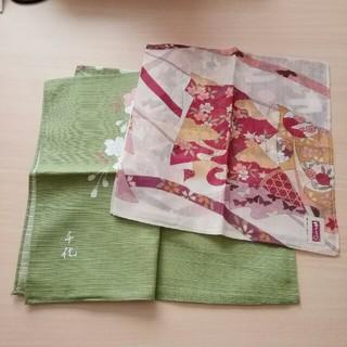 ウノチヨ(宇野千代)のハンカチ 2枚セット(ハンカチ)