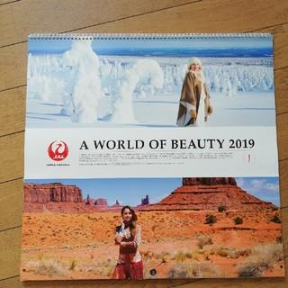 ジャル(ニホンコウクウ)(JAL(日本航空))の❬JAL A World of Beauty カレンダー2019❭(カレンダー/スケジュール)