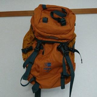 カリマー(karrimor)の値下げ カリマー リッジ30 リュック バッグパック オレンジ   (バッグパック/リュック)