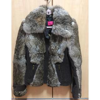ジューシークチュール(Juicy Couture)のJUICY COUTURE  Sサイズ アウター ファーコート(毛皮/ファーコート)