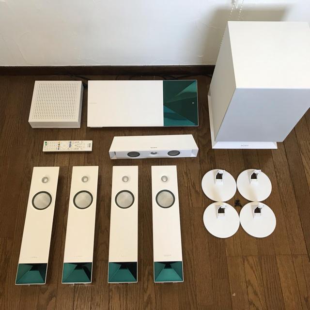 SONY(ソニー)のBDV-N1WL スマホ/家電/カメラのオーディオ機器(スピーカー)の商品写真