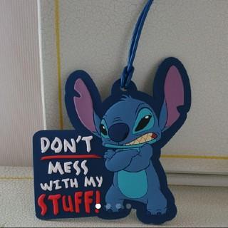 ディズニー(Disney)のスティッチ ラゲージタグ(旅行用品)