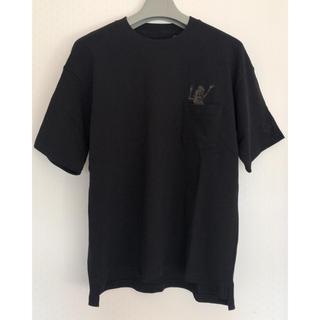 キムジョーンズ(KIM JONES)のキムジョーンズ限定コラボ ヘビーウェイトビッグT ブラック(Tシャツ/カットソー(半袖/袖なし))