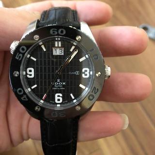 エドックス(EDOX)のedox クラスワン ビックデイト(腕時計(アナログ))