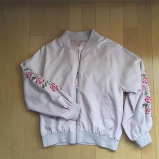 シマムラ(しまむら)のしまむら☆袖刺しゅうジャケット(ノーカラージャケット)