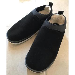 スイコック(suicoke)の【美品】SUICOKE ムートンブーツ(ブーツ)