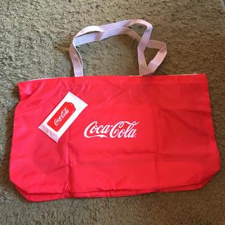 コカコーラ(コカ・コーラ)のコカコーラノベルティエコバッグ、ウエットティッシュセット(エコバッグ)