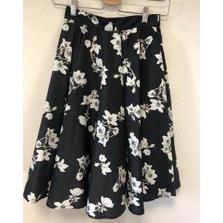 ニコルクラブ(NICOLE CLUB)のニコルクラブ 花柄スカート(ひざ丈スカート)