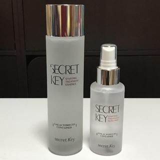 シークレットキー(Secret Key)のシークレットキー ガラクトミセス トリートメントエッセンス 光彩ミスト セット(化粧水 / ローション)
