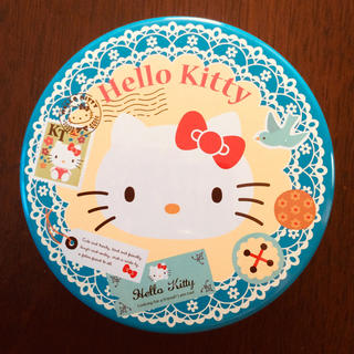 ハローキティ(ハローキティ)のHello Kitty 空き缶(容器)