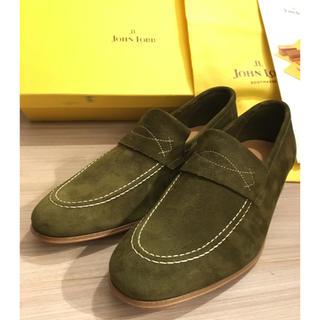 ジョンロブ(JOHN LOBB)のJOHN LOBB ローファー YARDLEY 5.5E スエード定価以下 新品(ローファー/革靴)