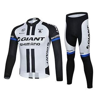 ジャイアント(Giant)の長袖 サイクルジャージ セット 自転車ウェア Giant M(ウエア)