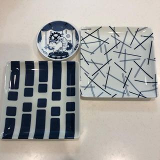 ハサミ(HASAMI)の新品 未使用 波佐見焼 natural69 角皿 (食器)