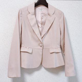 ロディスポット(LODISPOTTO)の袖刺繍くるみボタンジャケット♡(テーラードジャケット)