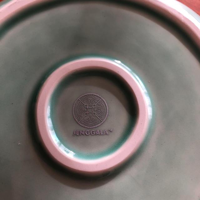 Jenggala(ジェンガラ)のJENGGALA バリ リーフディッシュ インテリア/住まい/日用品のキッチン/食器(食器)の商品写真