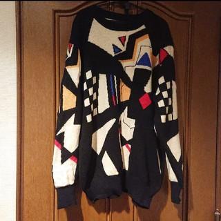 パナマボーイ(PANAMA BOY)の古着 ニット(ニット/セーター)