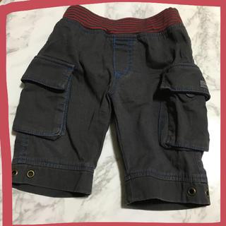 ハッカベビー(hakka baby)のhakka baby ハーフパンツ 80サイズ(パンツ)