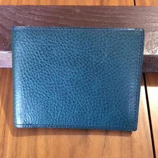 ガンゾ(GANZO)の美品 GANZO. fico二つ折り財布 フィーコ 革製(折り財布)