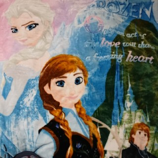 ディズニー(Disney)のディズニー アナと雪の女王 2枚合わせ 毛布 シングル サイズ (毛布)