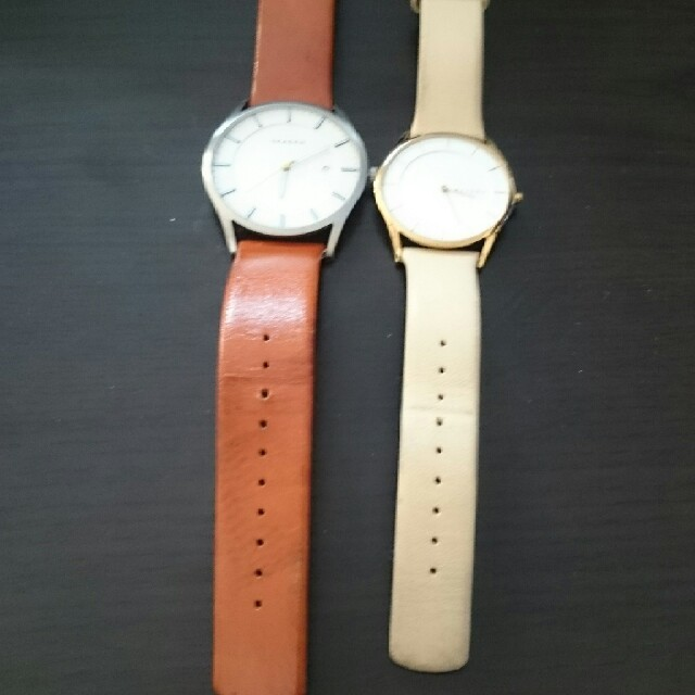SKAGEN(スカーゲン)のももんが様専用 レディースのファッション小物(腕時計)の商品写真