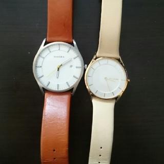 スカーゲン(SKAGEN)のももんが様専用(腕時計)