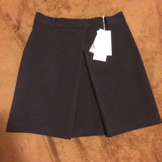 ミラオーウェン(Mila Owen)の新品未使用♡フェイク巻きスカート(ミニスカート)