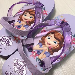 ディズニー(Disney)のソフィア ビーチサンダル(サンダル)