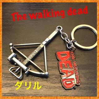 人気 レア ウォーキング・デッド ダリル キーホルダー Walking Dead(アメコミ/海外作品)
