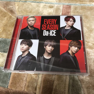 Da-iCE EVERY SEASON CDのみ