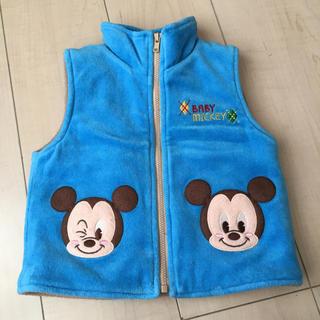 ディズニー(Disney)のミッキー ベスト 80(ジャケット/コート)