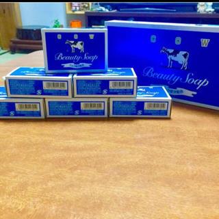 ギュウニュウセッケン(牛乳石鹸)の牛乳石鹸青箱  6個セット(ボディソープ / 石鹸)