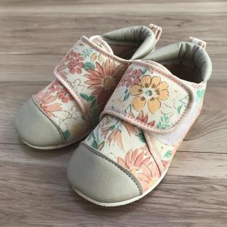 ハッカベビー(hakka baby)の花柄ベビースニーカー(スニーカー)